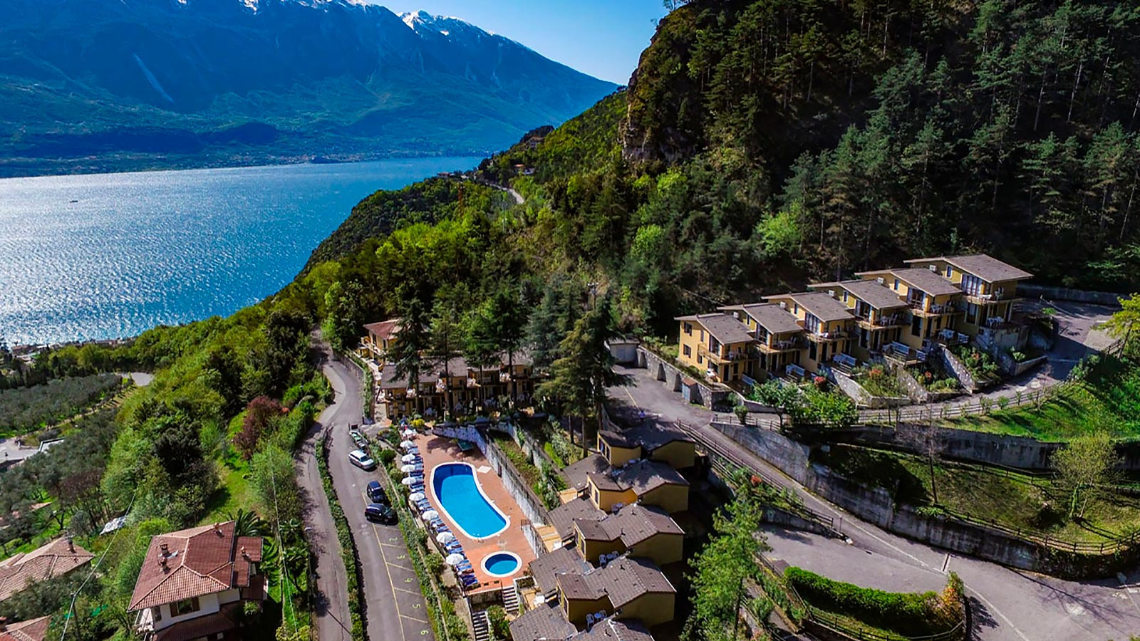 Residence Oasi at Limone sul Garda panoramic view