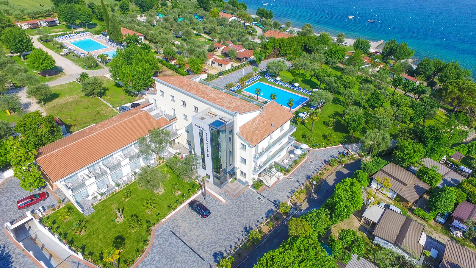 Villa Paradiso Suite view from above